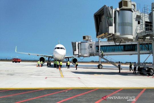 AP I : penerbangan Batik Air di bandara baru Yogyakarta 15 Mei