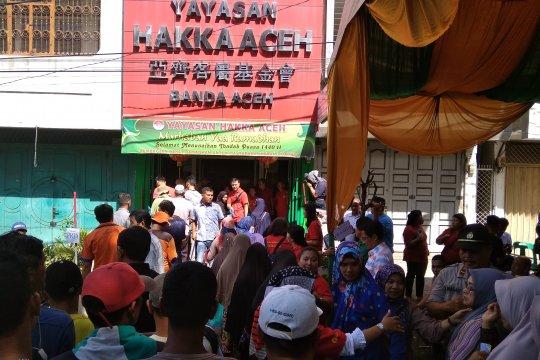 Hakka Aceh salurkan 2.035 paket Ramadhan bagi keluarga miskin