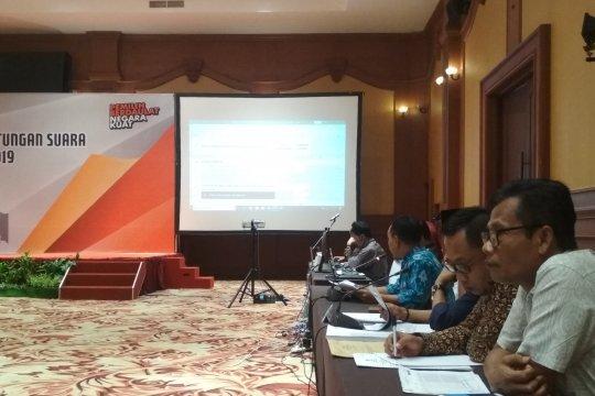 Pleno KPU NTB menuai protes dari saksi DPD Farouk Muhammad