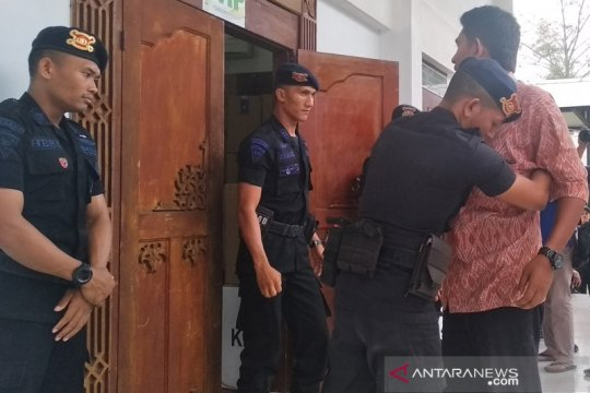 Gedung DPRK Aceh Besar dijaga ketat aparat keamanan