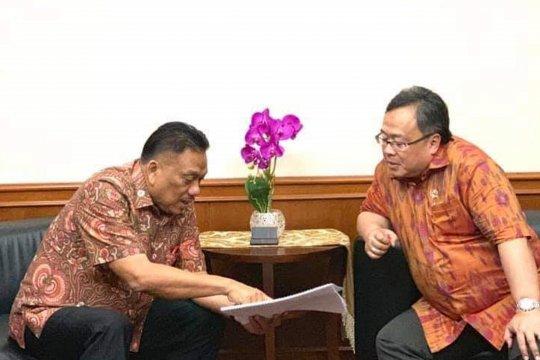 Gubernur Sulut usulkan pembangunan infrastruktur ke Bappenas