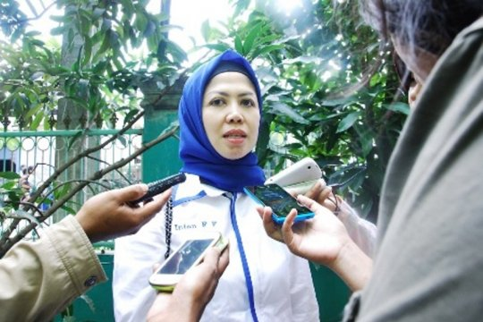 Tiga Srikandi Depok melenggang ke Senayan