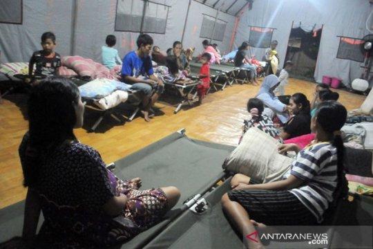 BPBD Lebak kembali dirikan tenda pengungsian