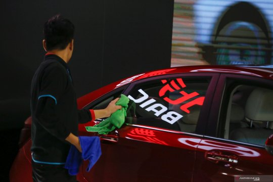 BAIC China berupaya miliki Daimler