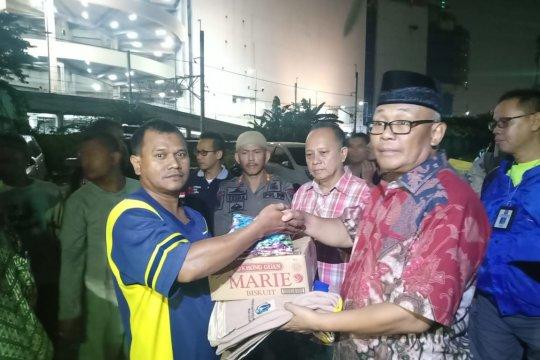 Pengungsi Kampung Bandan dapat bantuan makan sahur dan takjil