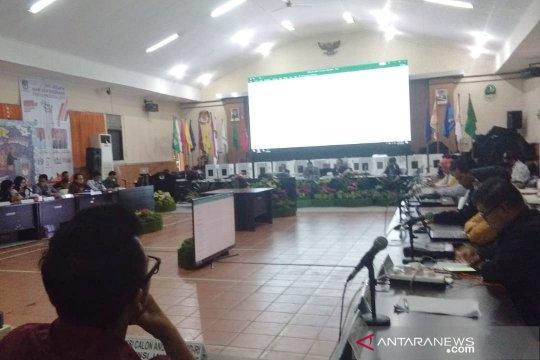 KPU Jabar telah mengesahkan rekapitulasi 20 daerah