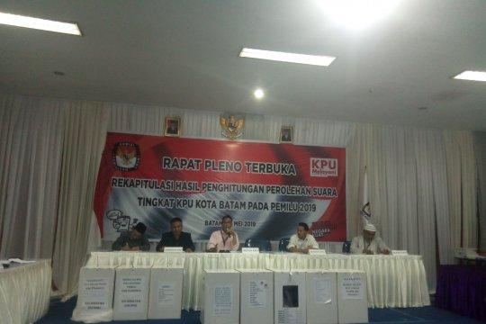 KPU Batam tunda lagi rapat rekapitulasi suara