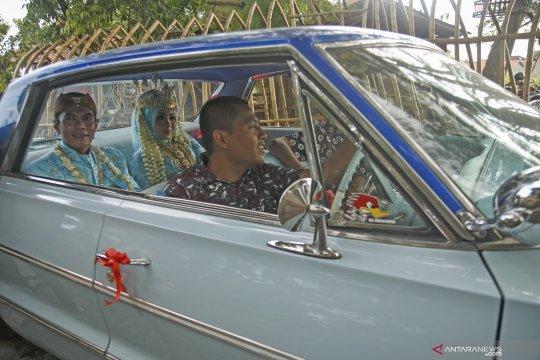 """Pengantin baru di Gondomanan Yogyakarta langsung bisa """"update"""" status"""
