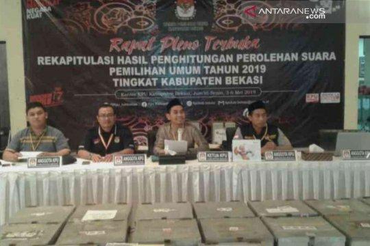 Prabowo-Sandi unggul 63,8 persen di Kabupaten Bekasi