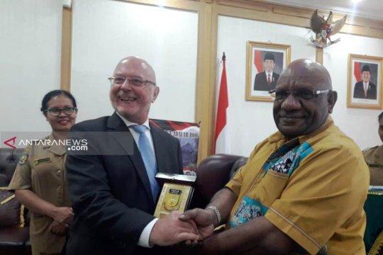 Dubes Belgia kunjungi Papua