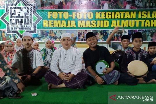 Remaja masjid buka sekolah hadrah di masjid Al Muttahidin Jambi