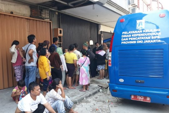 Sudin Dukcapil Jakut buka layanan kependudukan di Kampung Bandan