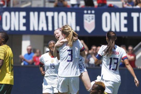 AS taklukkan Afsel 3-0 dalam uji coba jelang Piala Dunia Putri