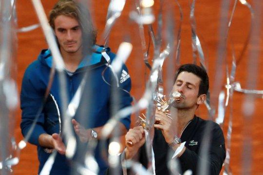 Para bintang tenis dunia akan berlaga di turnamen virtual Madrid Open