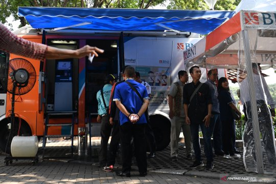BI hentikan sementara layanan penukaran uang di Jakarta
