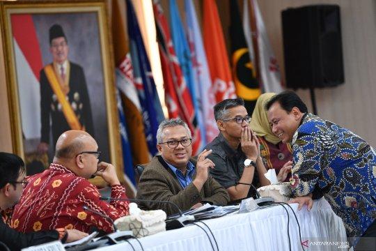 Rapat pleno rekapitulasi tingkat nasional KPU