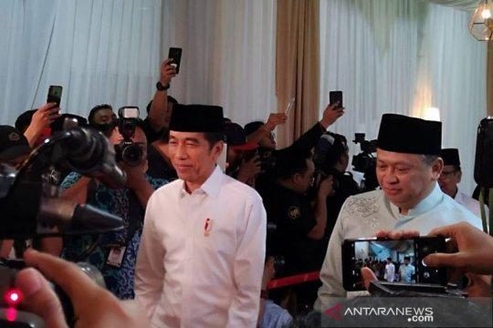 Presiden Jokowi buka puasa bersama Pimpinan DPR