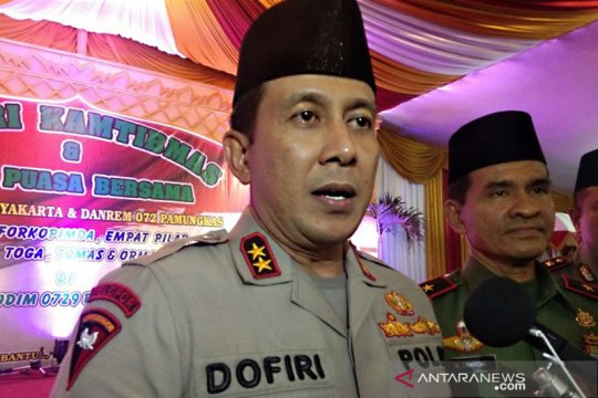 Kapolda DIY: Tidak ada tokoh Yogyakarta yang memprovokasi usai Pemilu
