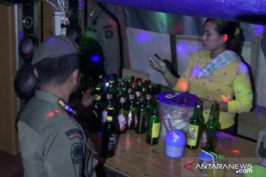 200 kardus minuman keras disita dalam Operasi Pekat di Jakut
