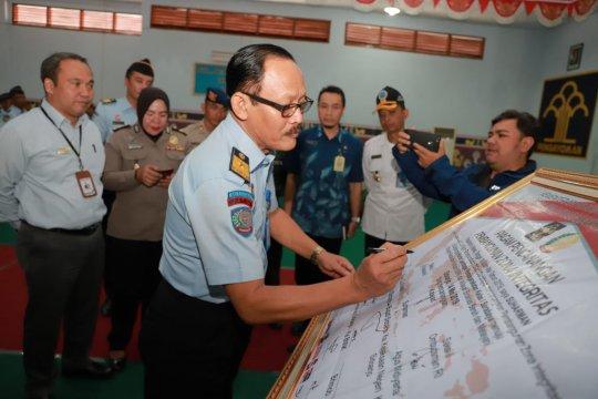 Lapas Surabaya deklarasikan pembangunan ZI menuju WBK-WBBM