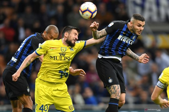 Liga Italia: Inter kalahkan juru kunci Chievo 2-0