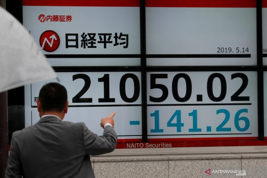 Bursa Saham Tokyo ditutup jatuh, pasar khawatir prospek ekonomi AS