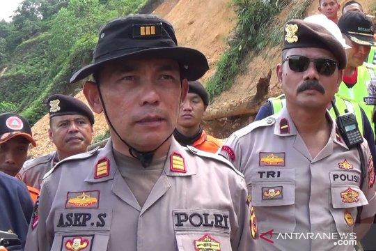 Polisi pastikan penambang tewas tertimbun di Bogor dua orang