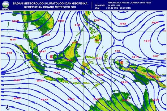 BMKG: Lampung berpotensi hujan lebat-angin kencang