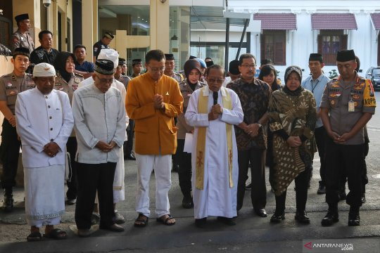 Peringati setahun tragedi bom di Markas Polrestabes Surabaya