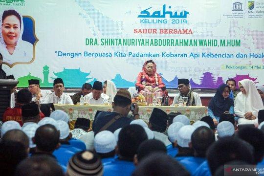 Sahur keliling Shinta Nuriyah Abdurrahman Wahid