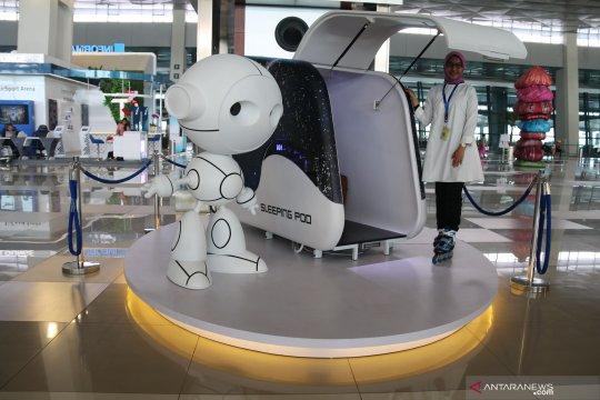 """Bandara Soetta akan dilengkapi """"sleeping pods"""" demi manjakan penumpang"""