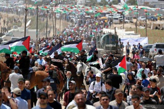 Polisi Israel tutup jalan ke permukiman di Jerusalem, serang warga