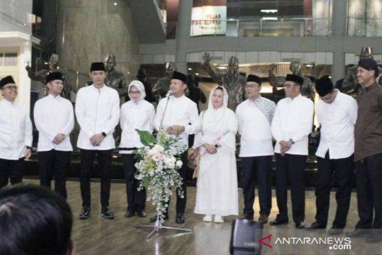 Anies hadiri syukuran, tak datang rapat perdamaian jelang 22 Mei