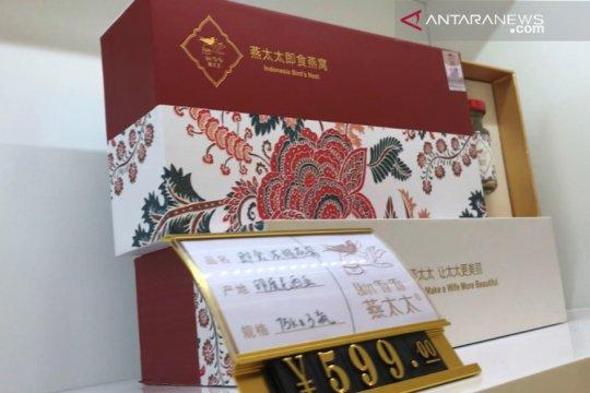Dua toko produk olahan sarang walet Indonesia buka di China