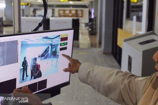 Bandara Minangkabau dilengkapi alat pendeteksi suhu tubuh