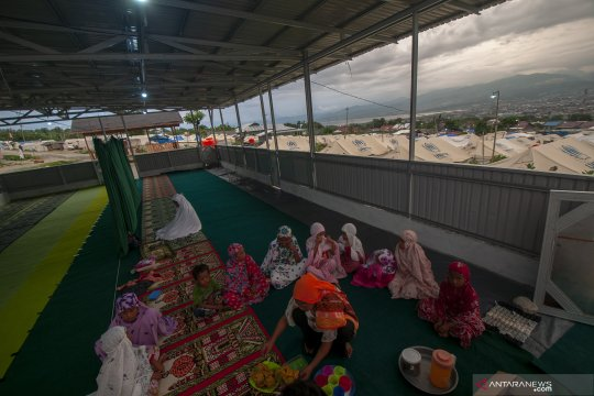 Ramadhan di kamp pengungsi Balaroa