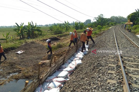 KAI: Perbaikan jalur rel Pasuruan-Bangil tuntas sebelum Lebaran