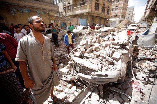 """Koalisi pimpinan Arab Saudi cegat """"drone"""" yang diluncurkan Al-Houthi"""