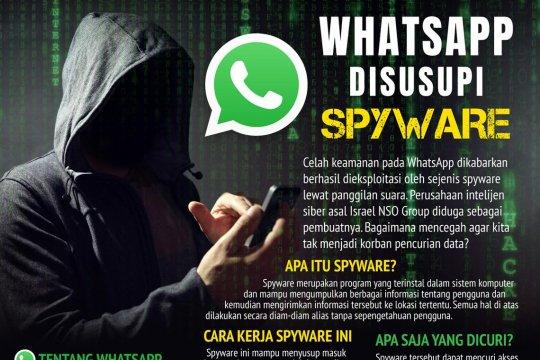 WhatsApp disusupi spyware