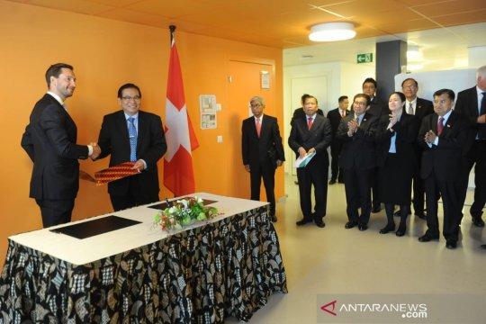 JK saksikan penandatanganan MoU pendidikan vokasi Indonesia-Swiss