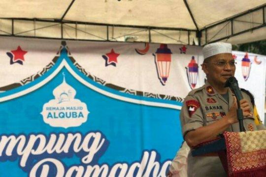 "Kapolda Sulbar resmikan "" Kampung Ramadhan"" di Mamuju"
