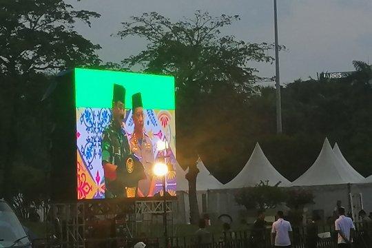 Presiden apresiasi kerja keras TNI/Polri amankan pemilu