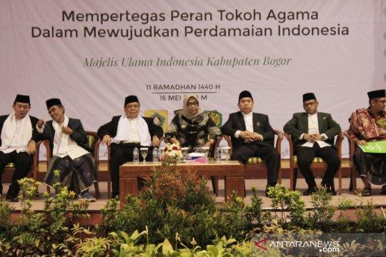 Delapan pesan damai ulama Bogor hadapi 22 Mei