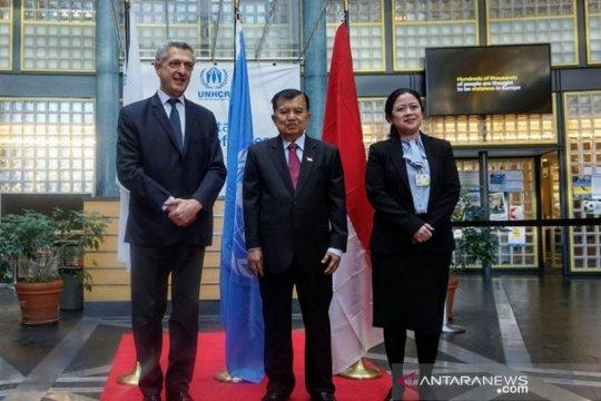 Wapres bahas penanganan pengungsi saat bertemu Komisioner Tinggi UNHCR