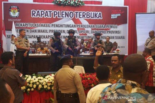 Rekapitulasi suara pemilu di Papua Barat tuntas