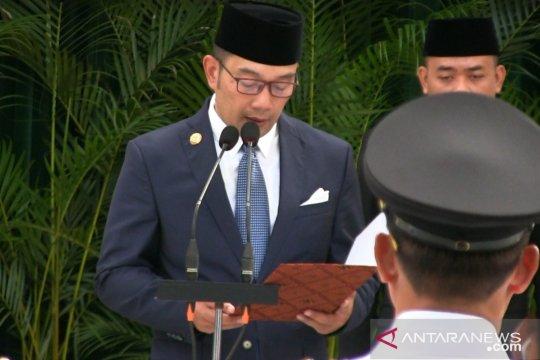 Ridwan Kamil minta Plt Bupati Cirebon jaga integritas
