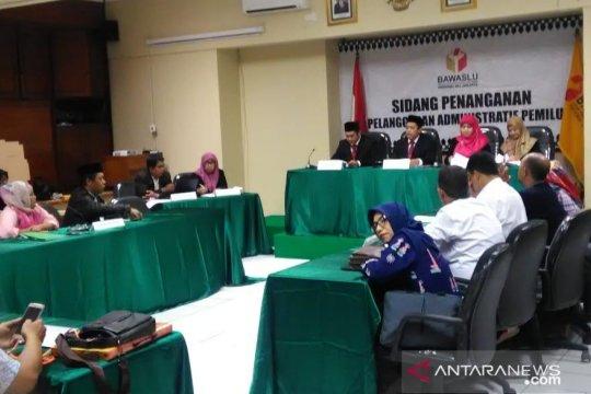 Bawaslu DKI gelar sidang dugaan pelanggaran oleh KPU Jakarta Barat