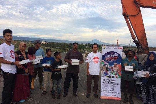 ACT Aceh tebar kebaikan lewat iftar bagi mereka kurang mampu