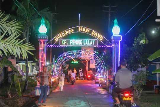 Meriahkan Ramadhan, pulau penyangga Batam gelar lomba lampu hias