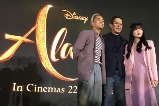 "Alasan Disney gaet Isyana-Gamaliel nyanyikan ""A Whole New World"""